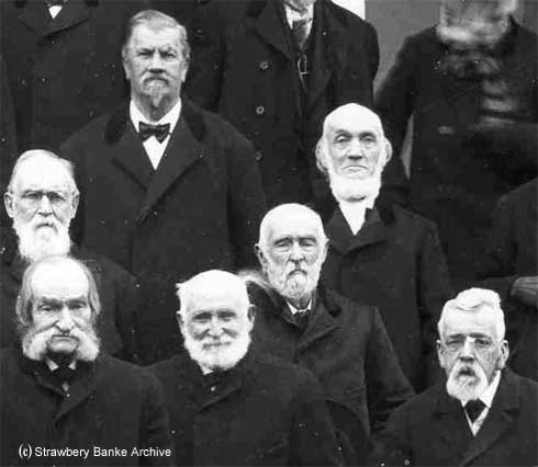 Portsmouth elders turn of the century NH detail / SeacoastNH.com