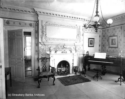 Victorian photo of Gov Langdon Mansion in Portsmouth, NH (c) Strawbery Banke Museum on SeacoastNH.com
