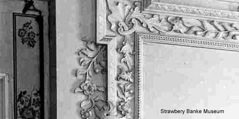 Details of wall and woodworking Gov Langdon 1784 mansion/ Strawbery Banke photo on SeacoastNH.com