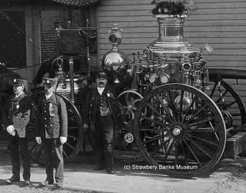 1901 Steam Pumper Moses H. Goodrich #4  (c) Strawbery Banke Museum Archive