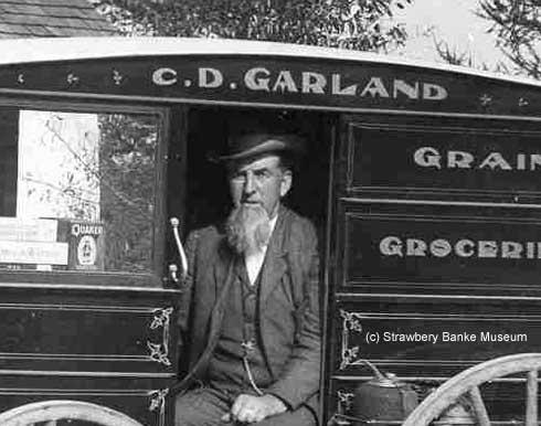 Charles David Garland , Rye, Nh grocer / (c) Strawbery Banke Museum Archive