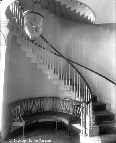 Peirce Mansion, Portsmouth, NH/ Strawbery Banke Museum