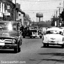 Portsmouth, Nh Traffic 1958/ Strawbery Banke Archive on SeacoastNH.com