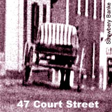 Cart on Court Street, Portsmouth, NH / Strawbery Banke Collections