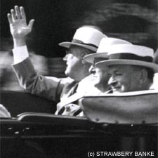FDR in Portsmouth, NH (c) Strawbery Banke Museum / All rights reserved