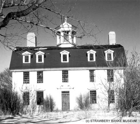 Sparhawk Mansion in Kittery Point, Maine (c) Strawbery Banke Museum Collection