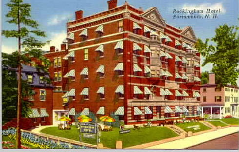 Postcard of ROckingham Hotel, Portsmouth, NH / SeacoastNH.com