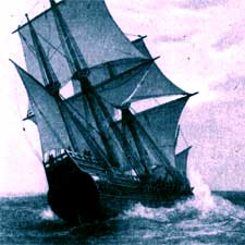 Artist's concept of the ship Mayflower/ SeacoastNH.com