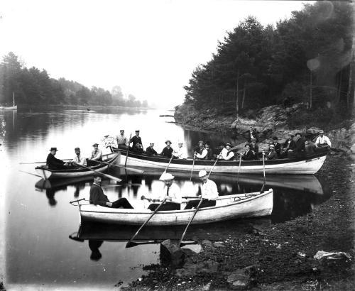 Rowing on Chauncey's Creek, Kittery