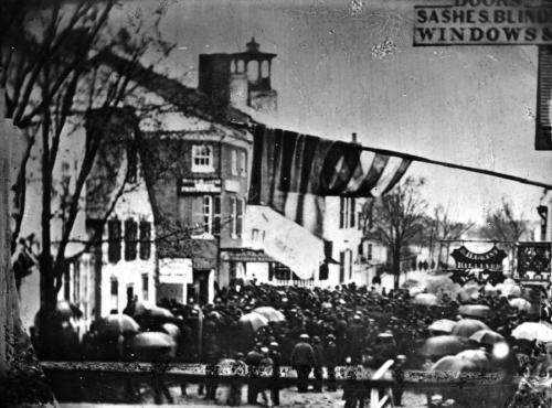 States and Union riot of 1865 (c) Strawbery Banke Museum