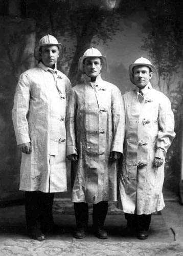 Early 20th Century Firefighters (c) Strawbery Banke Museum