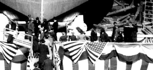 Ship Launch 1919, Portsmouth, NH