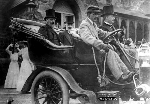 Russian delegates in POrtsmouth, NH in 1905