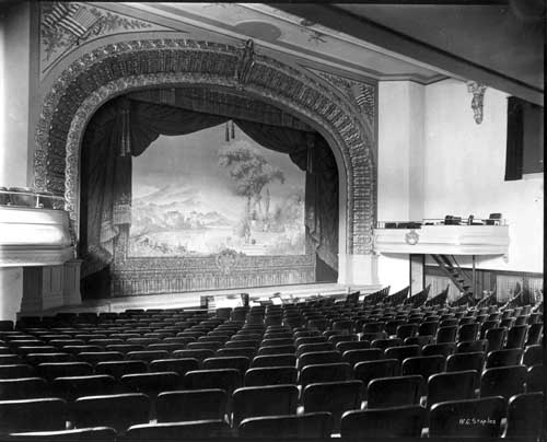 1916 Olympia THeater in Portsmouth, NH (c) Strawbery Banke Archives