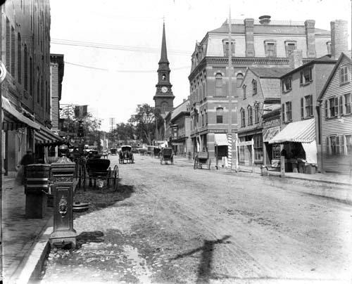 Market Square, Portsmouth, NH (c) Strawbery Banke Archive