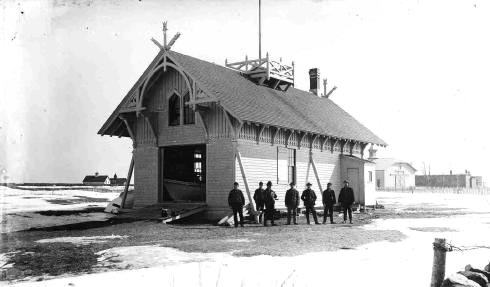 Jenness Beach Lifesaving Station, Rye, NH / Strawbery Banke Archive