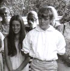 Becky and Tom Sawyer? Strawbery Banke 1980s / SeacoastNH.com
