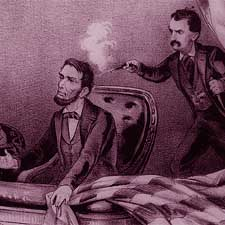 Lincoln Assassination early illustration