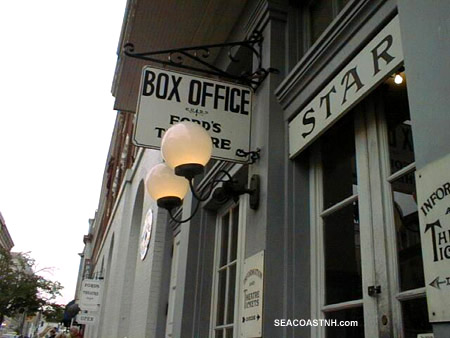 Box office and former bar at Ford's Theare/ SeacoastNH.com