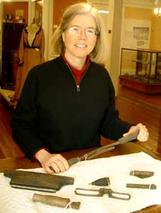 Nina Maurer at Old Berwick Historical Society / OBHS.net photo