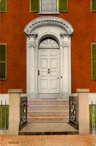 Abram Wendell doorway