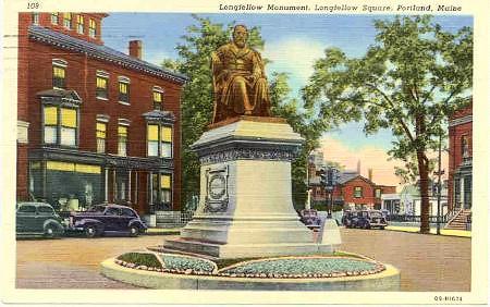 Longfellow Memorial, Portland
