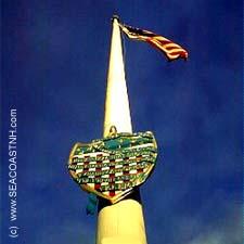 Liberty Pole (c) SeacoastNH.com by J. Dennis Robinson