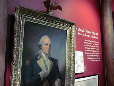 John Stark at Millyard Museum