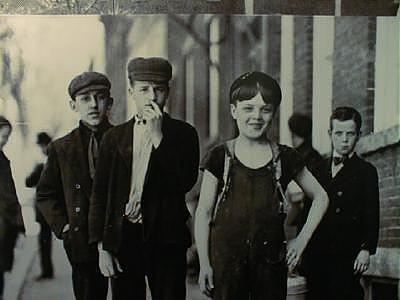 Mural of Millyard Workers