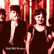 Millyard Child Workers in Manchester