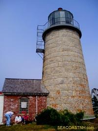 Monhegan lighthouse / SeacoastNH.com