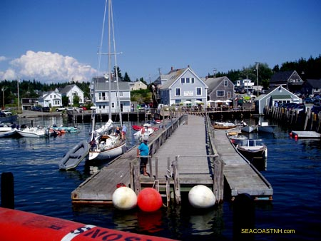 Leaving Port Clyde and heading to Monheagan Island / SeacoastNH.com