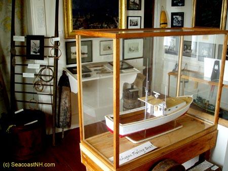 Permanent display inside Monhegan Museum / SeacoastNH.com