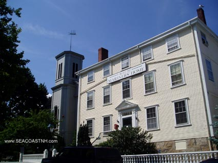 Seaman's Bethel and Mariner's Home in New Bedford/ SeacoastNH.com Photo