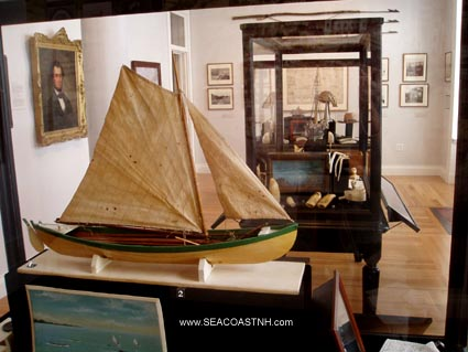 Inside New Bedford Whaling Museum / Phot by SeacoastNH.com