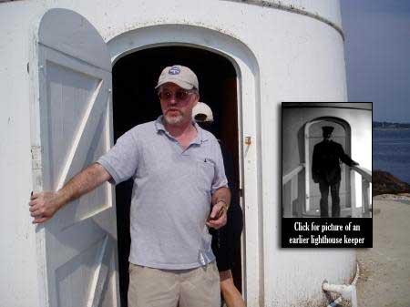 Lighthouse historian Jeremy D'Entremont / SeacoastNH.com
