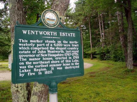 Wenworth Estate Marker, Wolfeboro