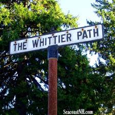 Whittier Path in Union Cemetery, Amesbury, MA / SeacoastNH.com
