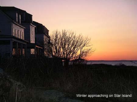 Star Island winter sunset / Star Island Corp
