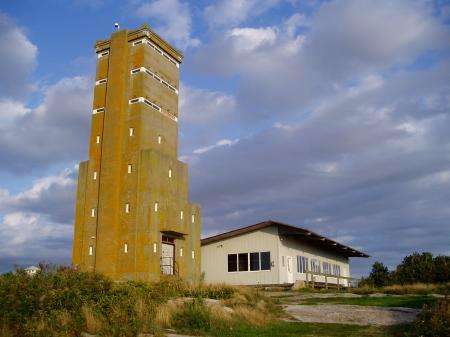 WW2 Observations tower and marine lab