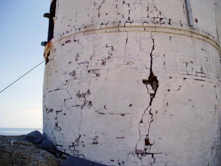 White Island Cracks