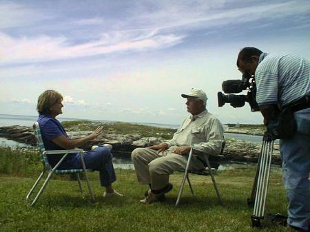 Mary RIchardson & Bob Tuttle film Chronicle on Smuttynose