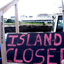 Star Island Closed in Summer 2007 (c) SeacoastNH.com, Photo by J. Dennis Robinson