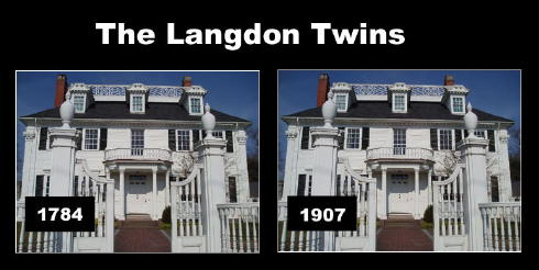 The 1784 Gov John Langdon House in Portsmouth, NH was reproduced iat Jamestown Exposition  in 1907 / SeacoastNH.com
