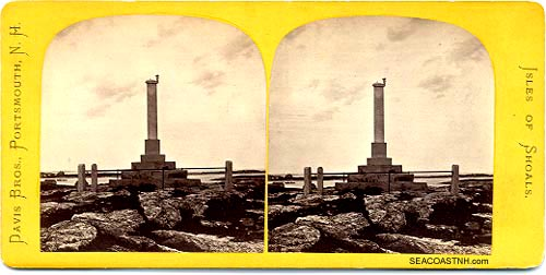 Star Island Monument / SeacoastNH.com