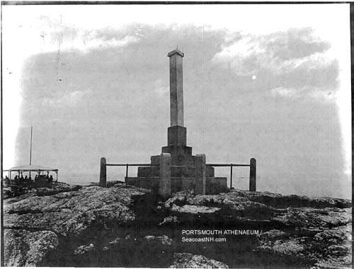 John Smith Memorial. Isles of Shoals/ SeacoastNH.com