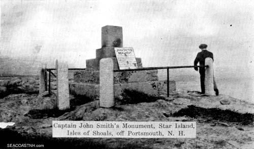 Ruin of Smith MOnumnet, New Hampshire
