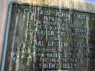 1914 Plaque added to 1864 Smith Monument