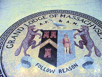 Grand Lodge of Massachusetts floor design