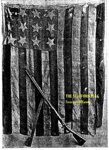Stafford Flag as seen in 19th Century Magazine Photo / SeacoastNH.com